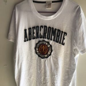 Abercrombie men's muscle T-shirt size large tee